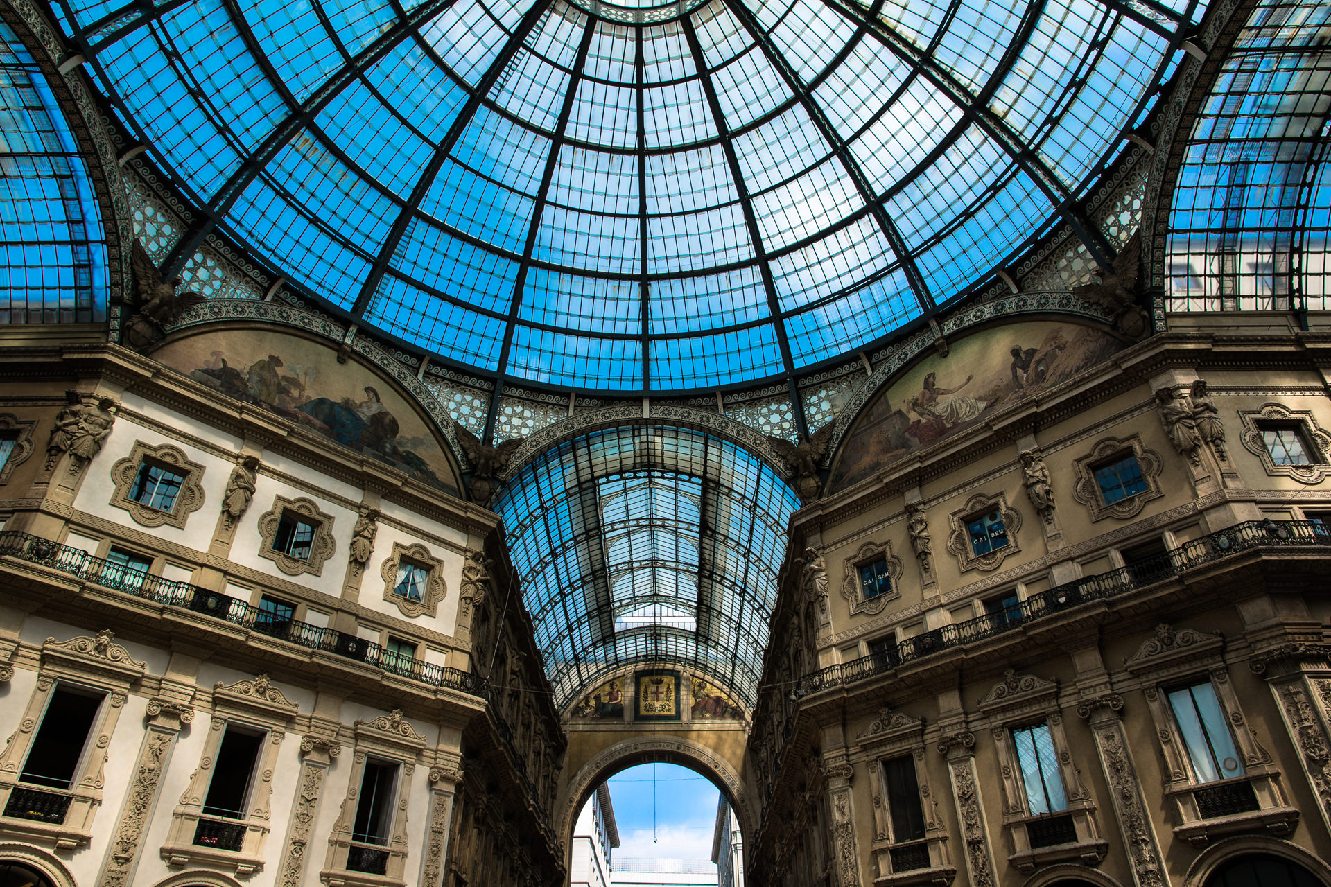 Einkaufsmeile - Mailand