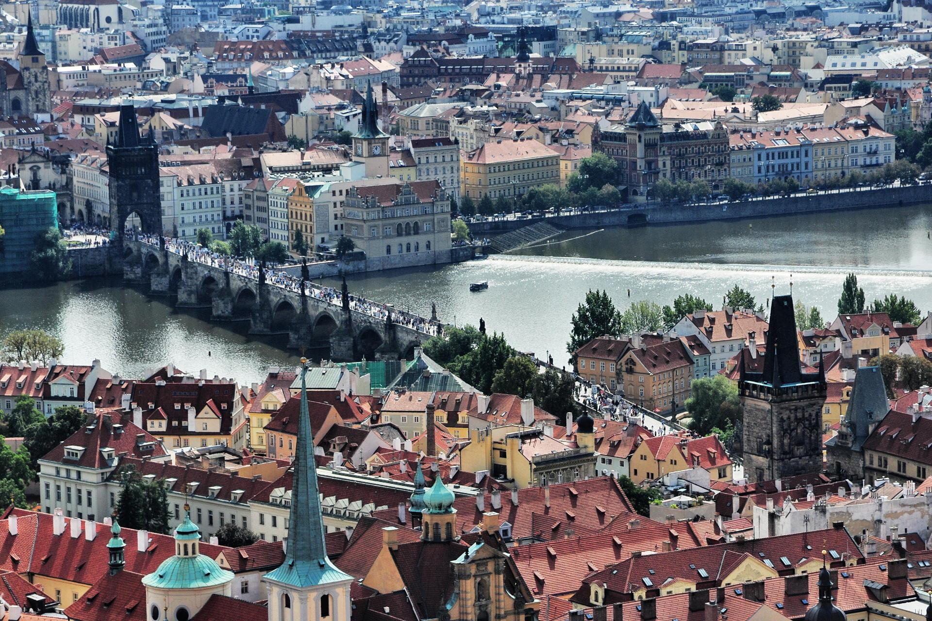 Prag am Vormittag