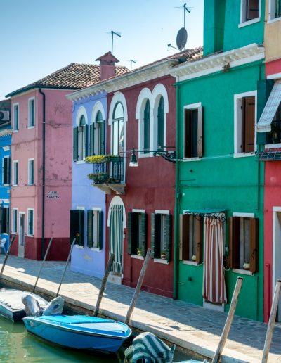 Burano - bunte Häuser