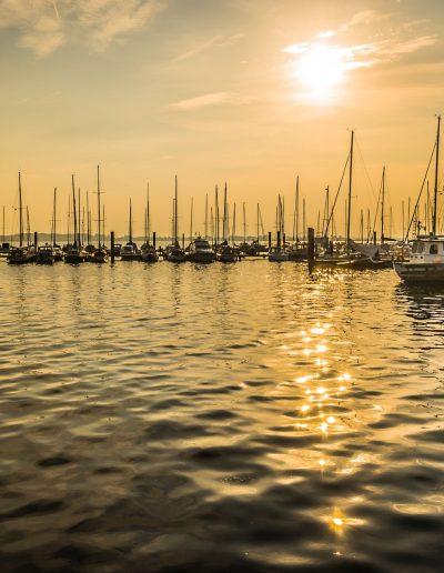Segelhafen am Fehmarnsund