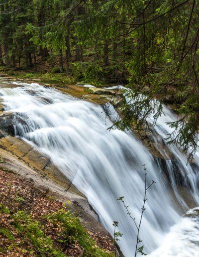 Mumlava-Wasserfall, Riesengebirge