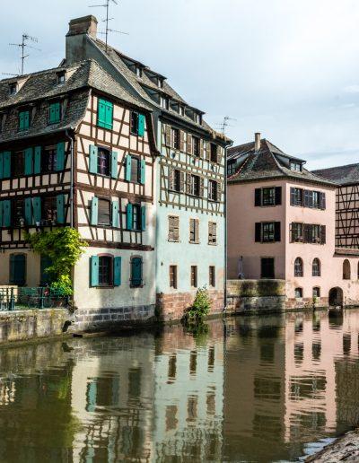Altstadt, umschlossen vom Ill-Kanal